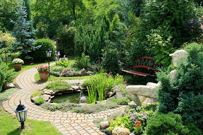 Creation De Bassin De Jardin A Franqueville Saint Pierre
